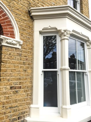 timber sash window renewal