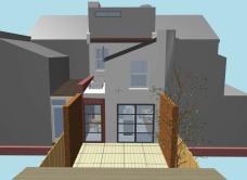 side extension elevation