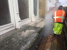 Stone, Marble, granite and facade cleaning