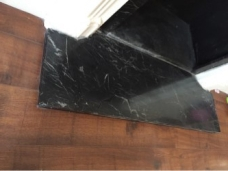 Marble Hearth Repair - After