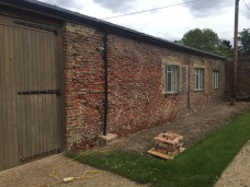 cement render removed