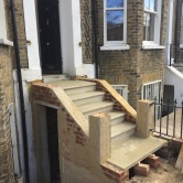 DESIGN & BUILD - STONE STEPS